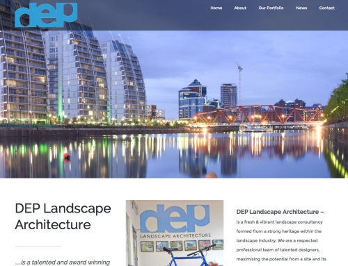 DEP Site Launch